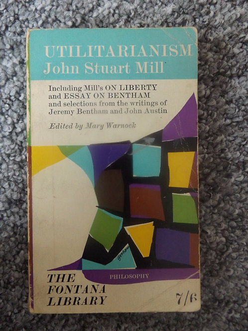 JS Mill: Utilitarianism
