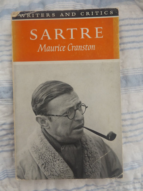 Sartre, by Maurice Cranston