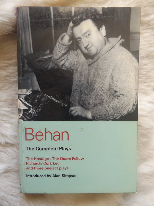 The Complete Plays of Brendan Behan