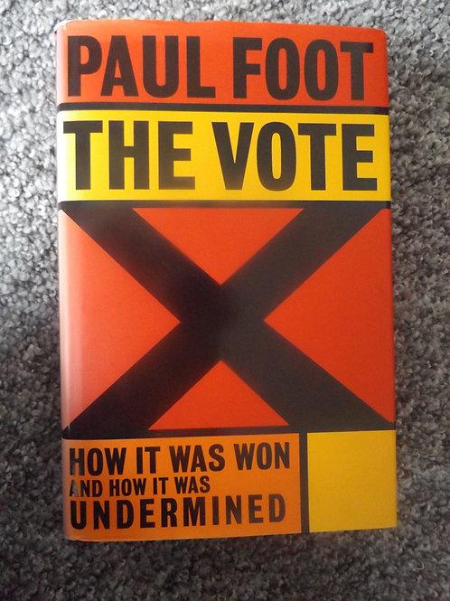 Paul Foot: The Vote