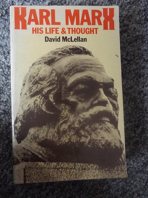 David McLellan: Karl Marx