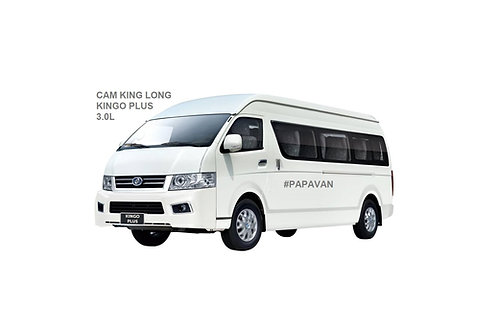 CAM KING LONG KINGO PLUS - 18 SEATER (3.0L TURBO DIESEL) HIGH ROOF WINDOW VAN