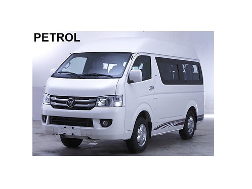 FOTON VIEW C2 -10 SEATER (PETROL) HIGH ROOF WINDOW VAV