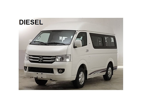 FOTON VIEW C2 - 10 SEATER (DIESEL) HIGH ROOF WINDOW VAN
