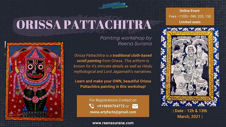 Orissa Pattachitra Workshop