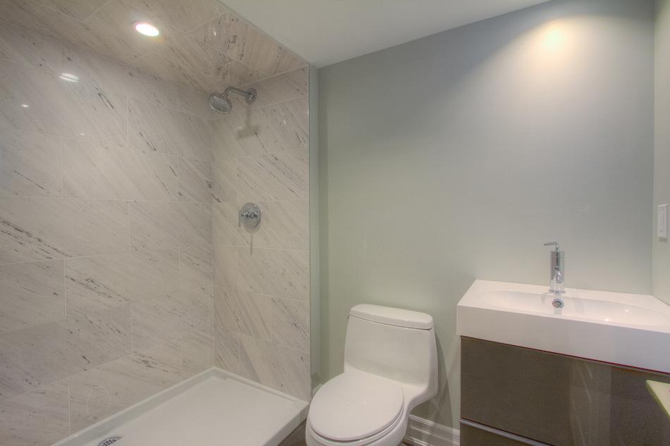 Basement Bathroom - After