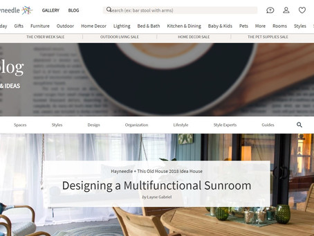 Designer Interview: The Multi-function Sunroom
