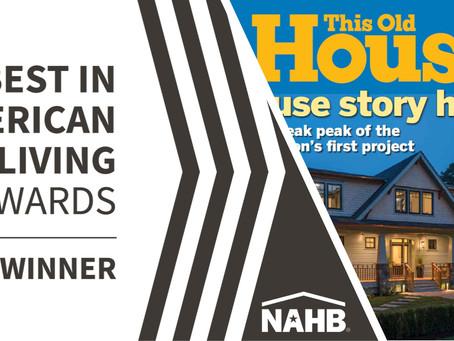 Idea House Takes Gold!