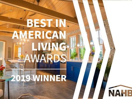 Pool House Receives National BALA Award