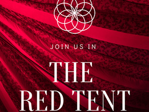 The Red Tent- Enter the Sacred Heart and Womb of The Great Mother