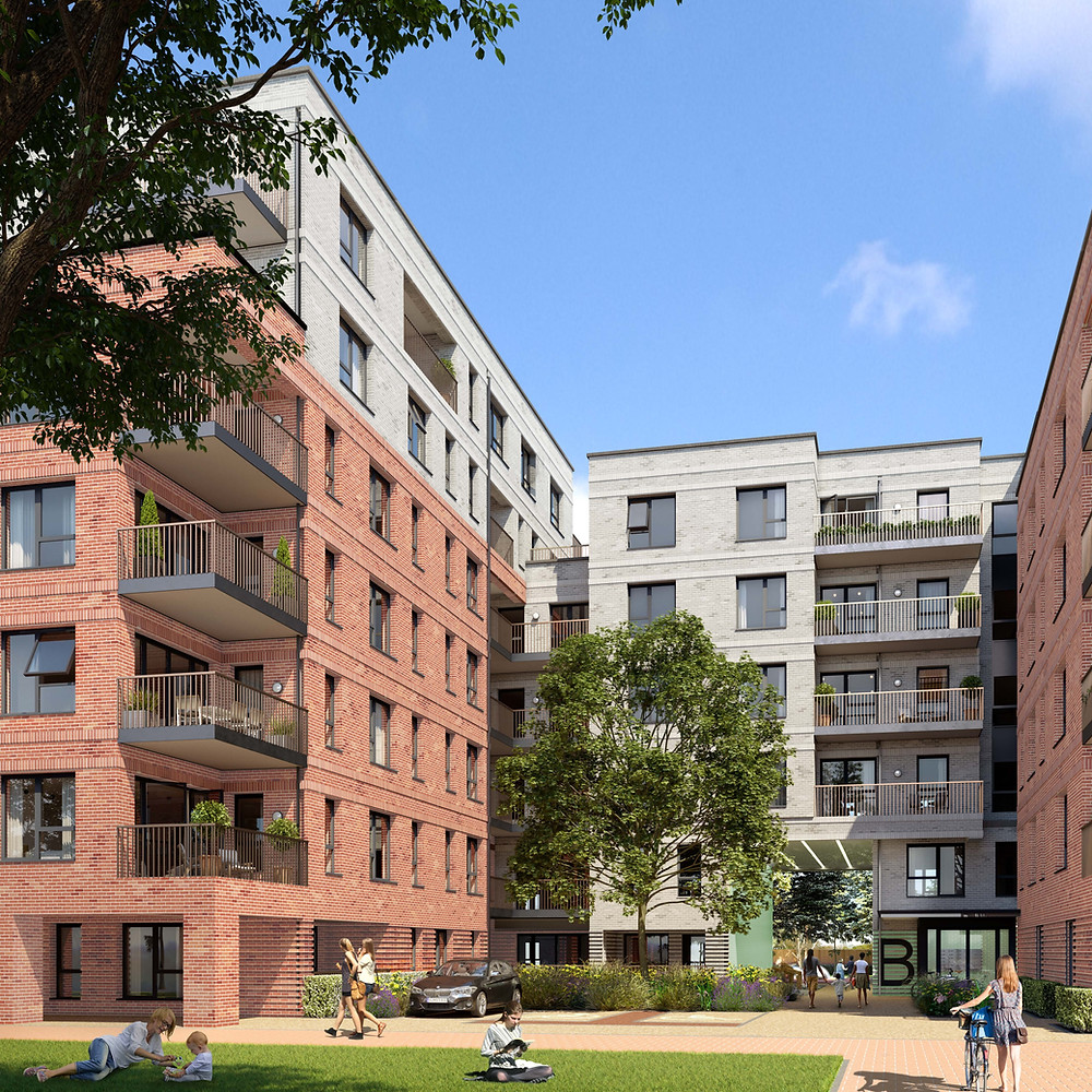 CGI for Houslow West Housing for A2 Dominion