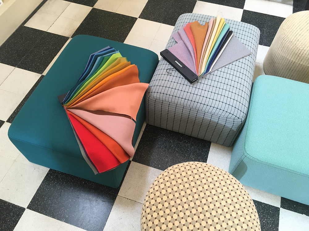 Clerkenwell Design Week 2018, Colourful designs