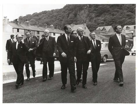 Prince Philip, Duke of Edinburgh with Ralph Colwyn Foulkes