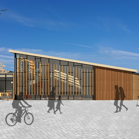 Plans for New Youth, Arts & Media Centre, in Gosport