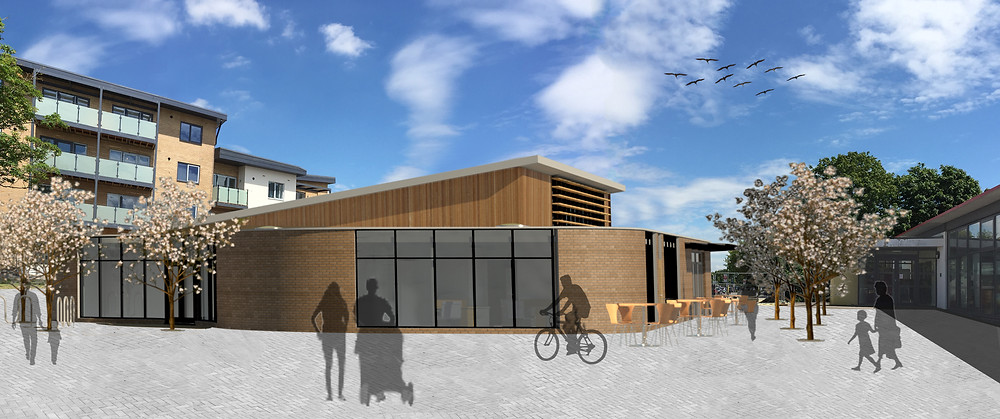 New 'Youth, Arts & Media Centre', Rowner, Gosport, Rowner Community Trust