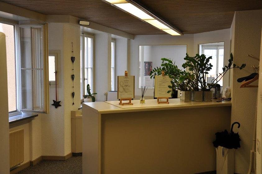 Empfang vom Büro der toni broder und partner GmbH