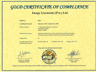Yes we are Ethical: WRAP Certificate Renewed!