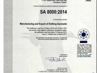 Social Accountability SA8000:2014