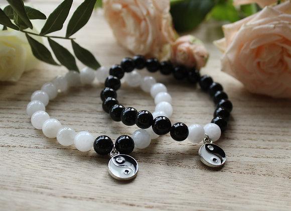 """Bracelets """"Yin et Yang"""" pour couple"""