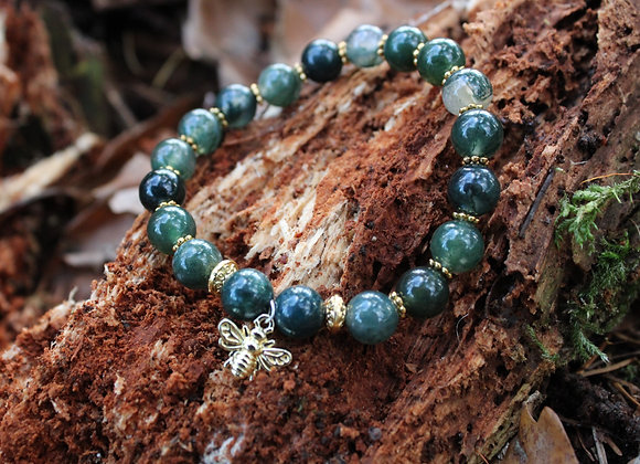 Bracelet Jade Foncée