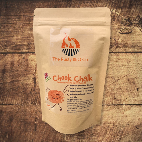 Chook Chalk BBQ Rub  200g