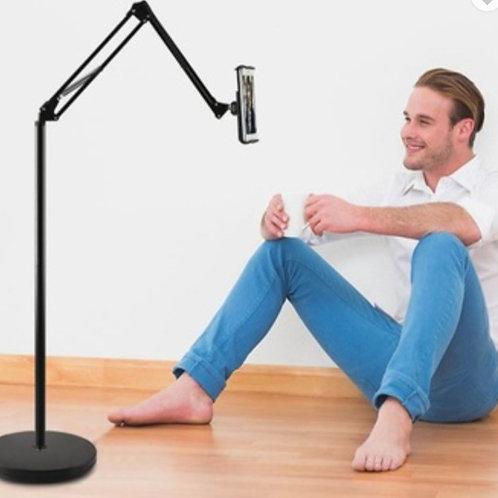 Floor Stand Phone/Tablet Holder w/ Swivel Arm