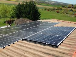 Installation d'un 9 kWc à Estramiac