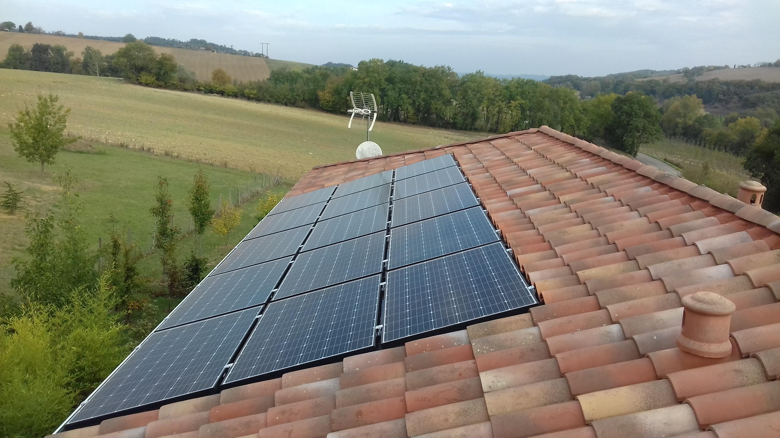 Aubiac (47) 9 kWc