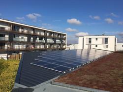 Panneaux photovoltaïques en autoconsommation sur immeuble La Rochelle