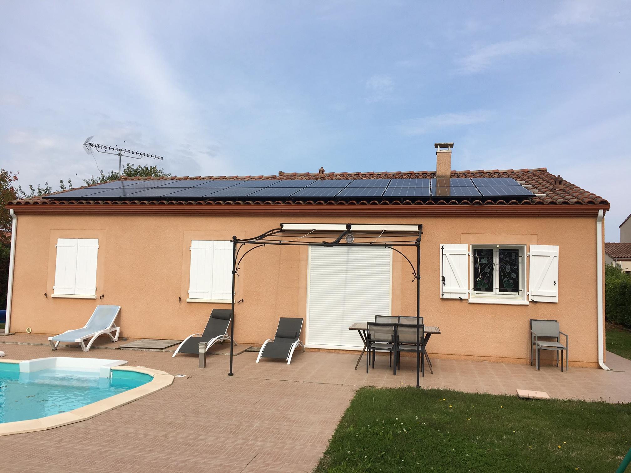 6 kWc au Passaeg d'Agen