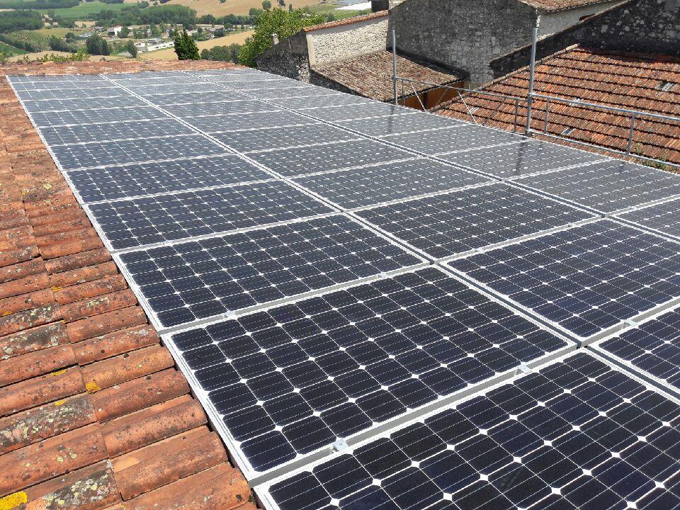 9 kWc à Puymirol