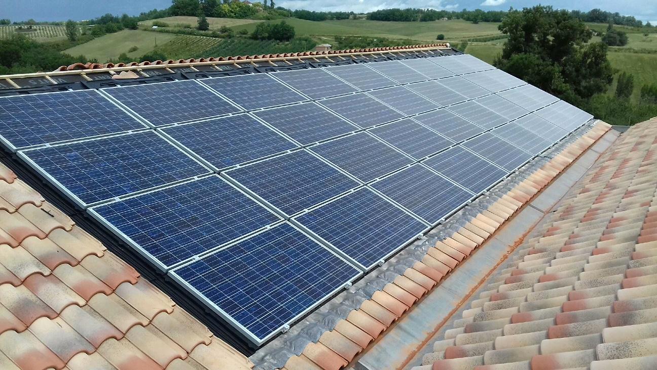 9 kWc à Cazes-Mondenard (82)