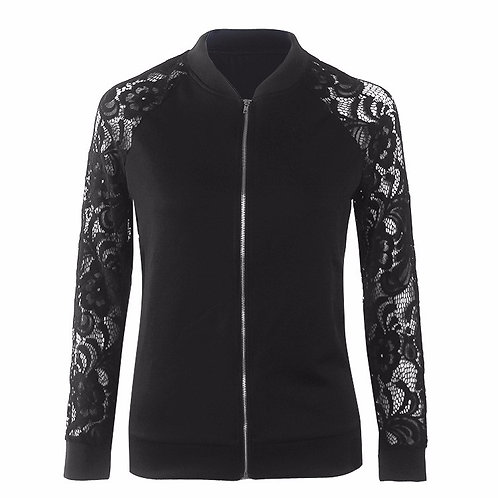 Alice Lace Bomber Jacket