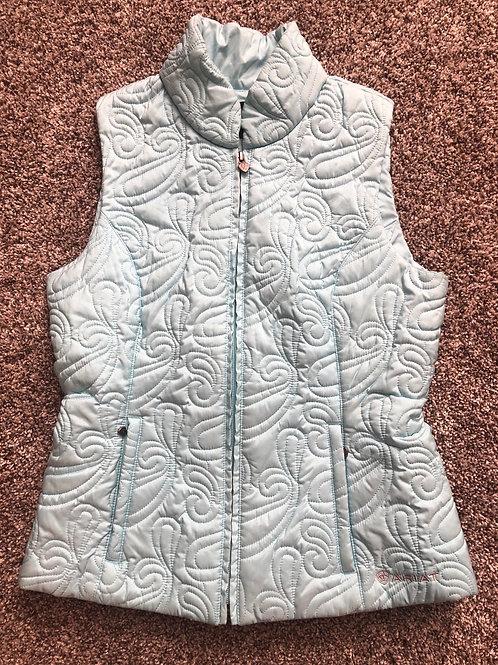 Small Ariat Light Blue Vest