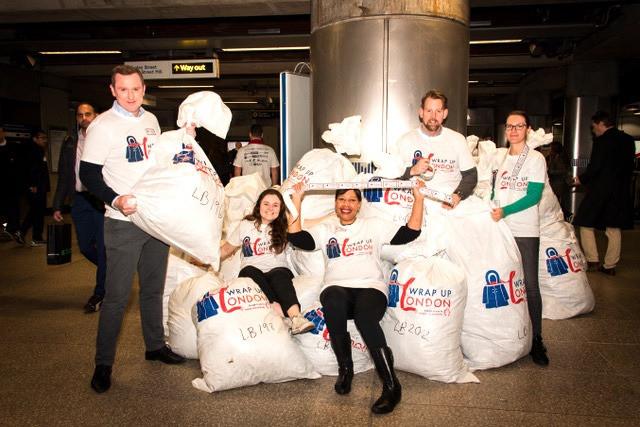 Wrap Up London Charity Christmas