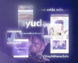 #StayAtHomeSafe