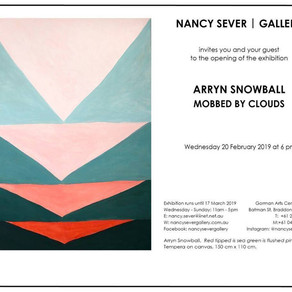 MOBBED BY CLOUDS - Nancy Sever Gallery, Canberra 20th of Feb - 17th of March 2019