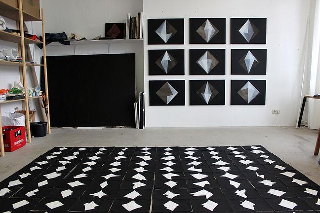 Arryn snowball studio painting contemporary art