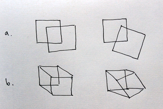 planes and cubes sketch