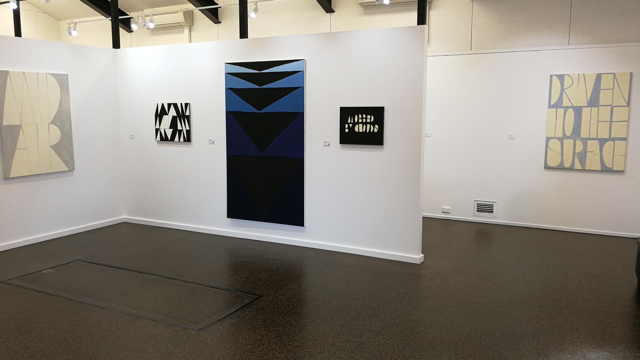 nancy sever gallery installation