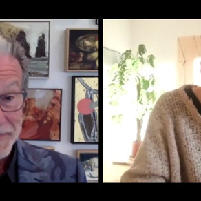Interviewed by Richard Morecroft for 'Exhibition'