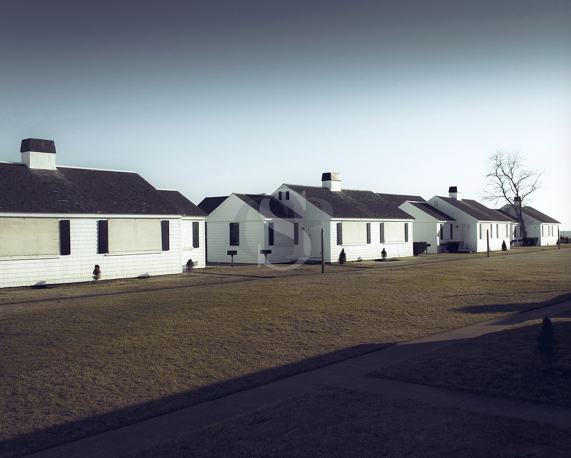 Row Of White Houses (north truro)
