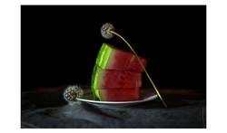 Watermelon and Dandelions