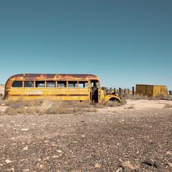 Sunken School Bus