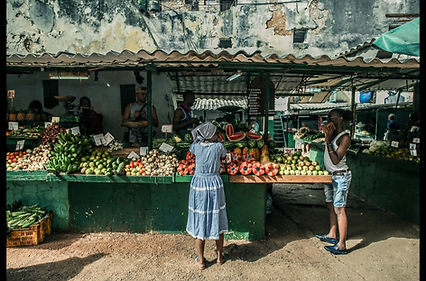 The Woman At The Market