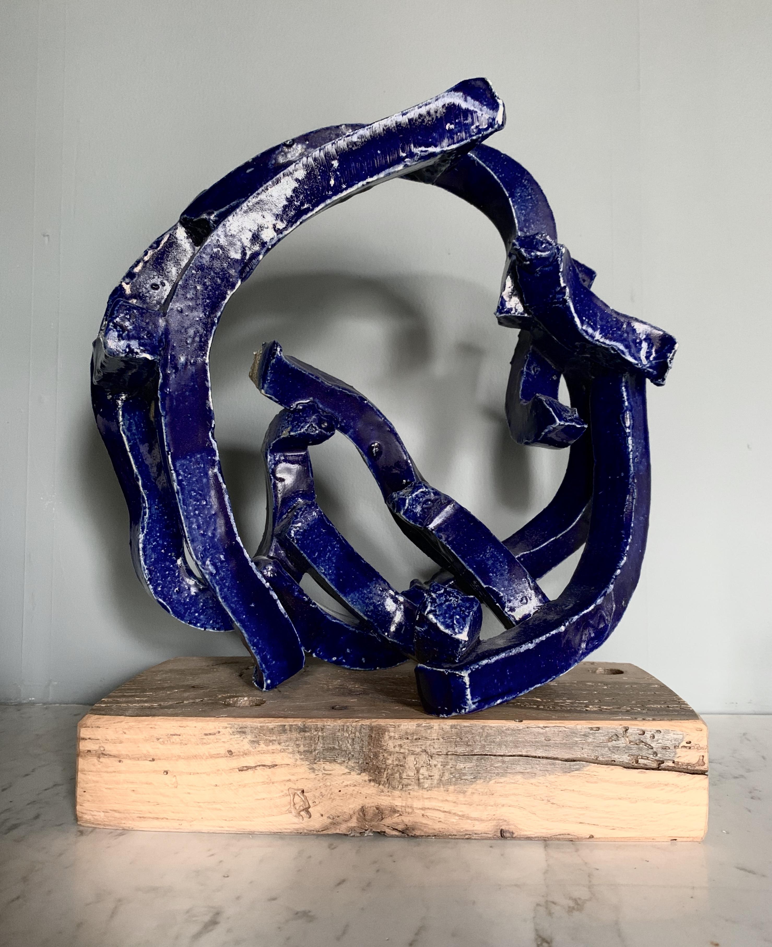 Cobalt Hoop by Brandon Reese