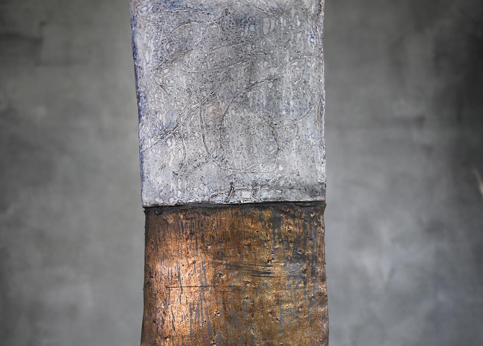 "Ceramic Pillow by Brandon Reese, 26.5""h"