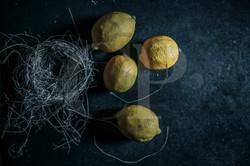 Nest with Lemons