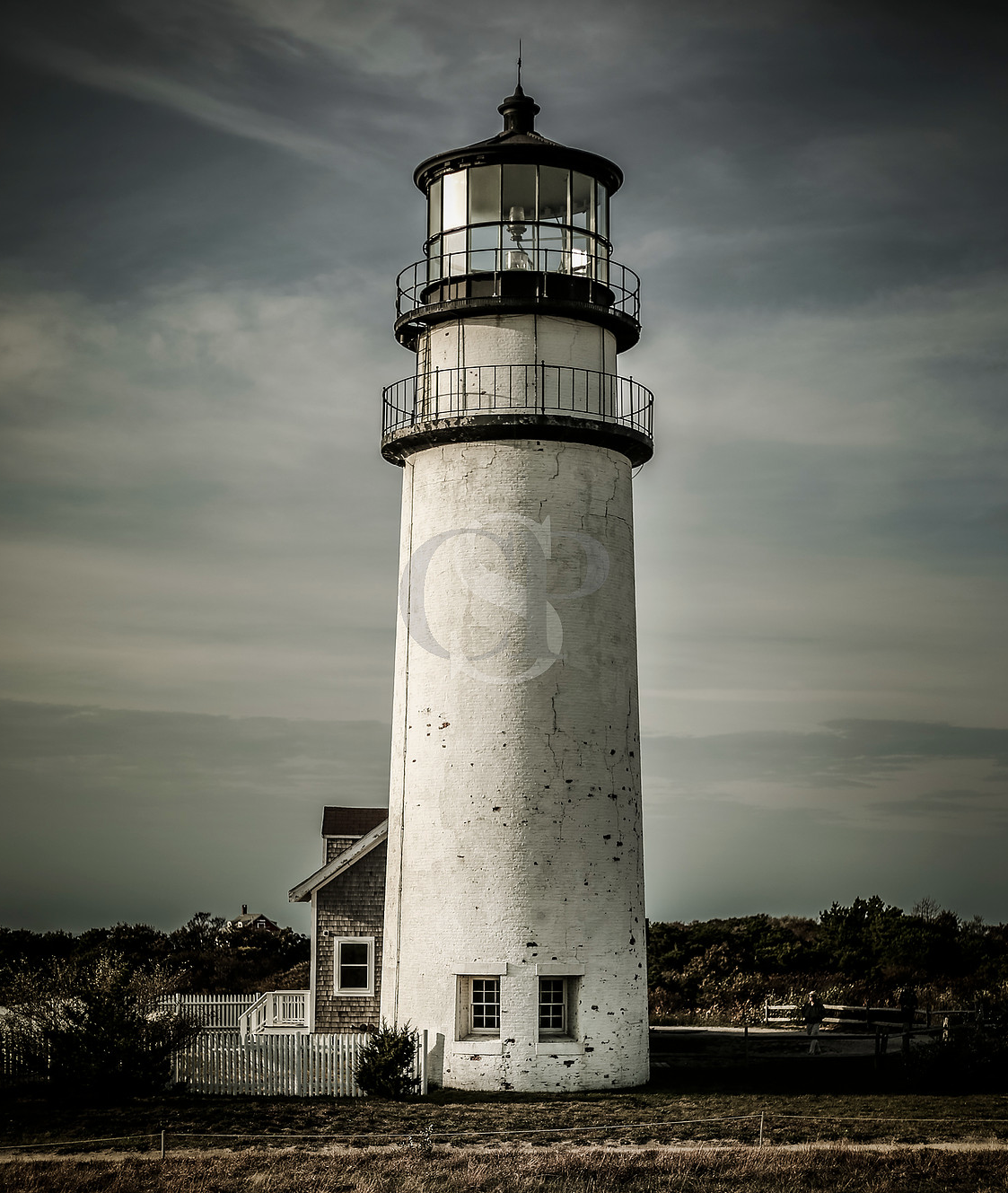 Cape Cod Light by Curtis Speer