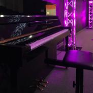 Piano & light
